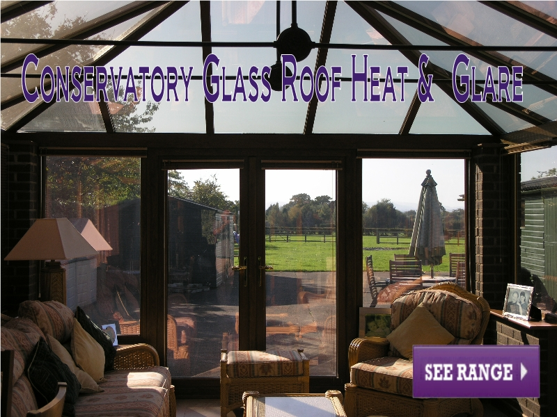 Conservatory Glass Roof Heat and Glare