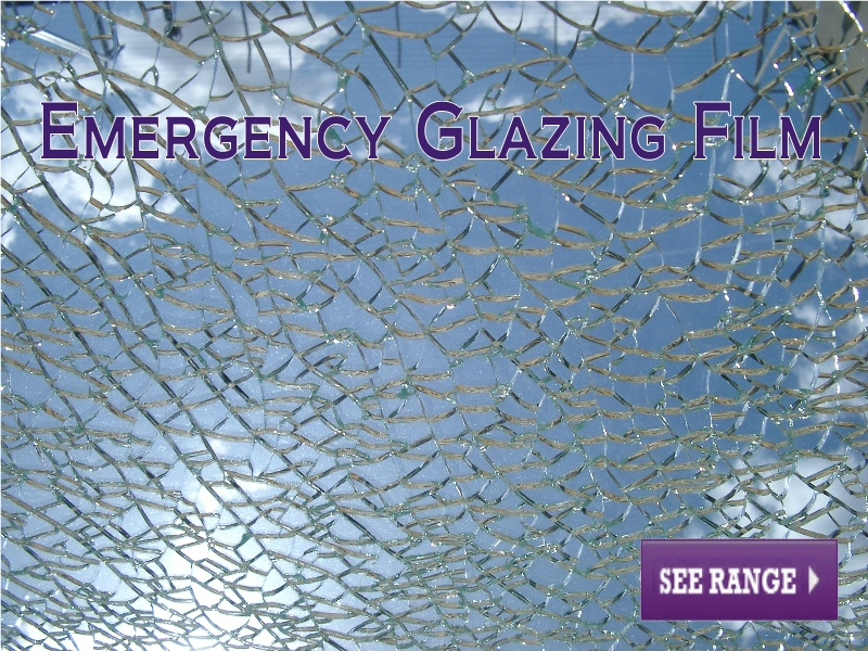 Emergency Glazing Film