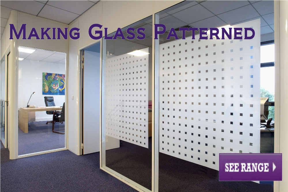 Making Glass Patterned Privacy