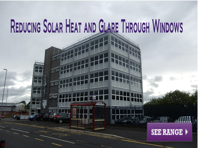 Reducing Solar Heat and Glare Through Windows
