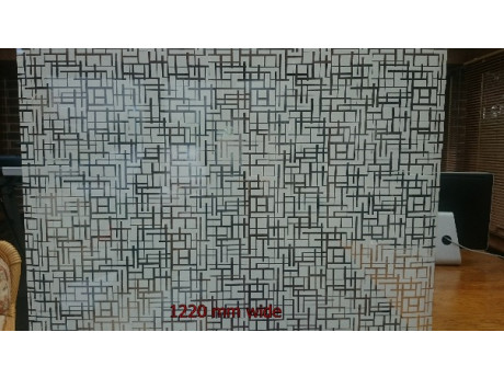 Maze Patterned Window Film