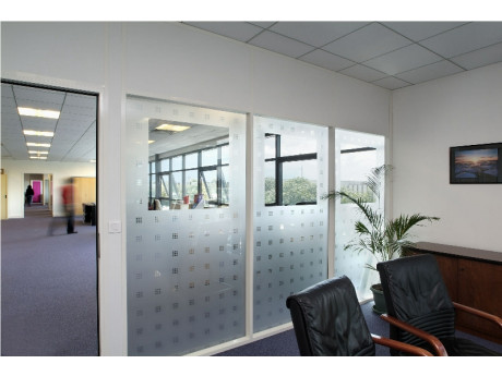 Patterned Frosted Glass Film