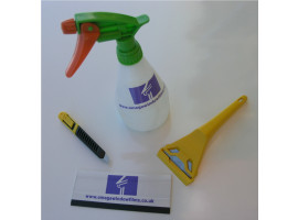 DIY Window Film Fitting Kit