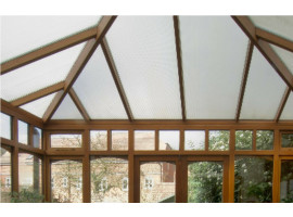 Conservatory Window Film to reduce the sun's heat and glare from entering your Polycarbonate Plastic Roof.