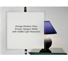Opaque White Privacy Window Film