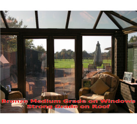 Solar Protection Strong Bronze Reflective Window Film