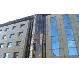 Solar Protection Strong Bronze External Fitting Reflective Window Film