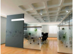 Modern Frosted Cubes Privacy Film