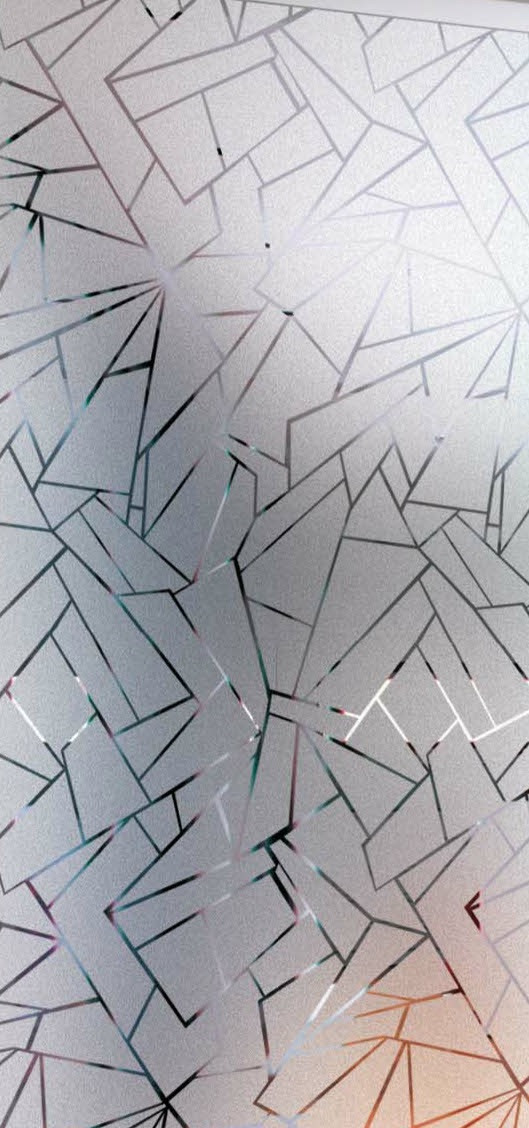 Frosted Clear Squares Patterned Window Film Offers 40 Off