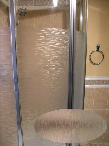 Convert Plain Glass To A Frosted Decorative Icicles Patterned Finish With 40 Off Our