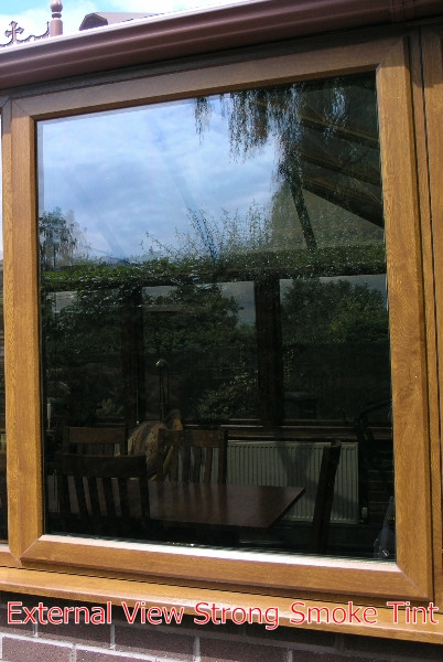 Solar Protection Strong Smoke Tint Window Film With 40